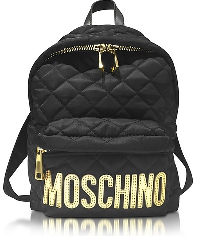 LUXUSNÍ Batohy MOSCHINO gold edition