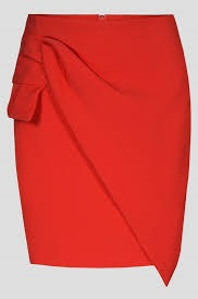 be1f8a405660 Dámská luxusní SUKNĚ červená