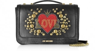 LUXUSNÍ Kabelky MOSCHINO Love red